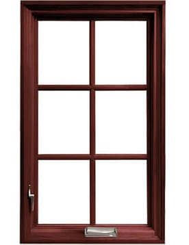 Pella architect casement window