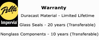 Pella Impervia warranty